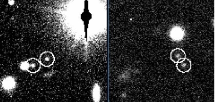 two images of 2001 QW322